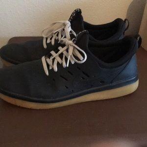 Nyjah free black skateboarding shoes